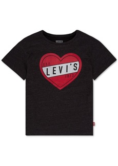 Levi's Heart-Print T-Shirt, Toddler Girls
