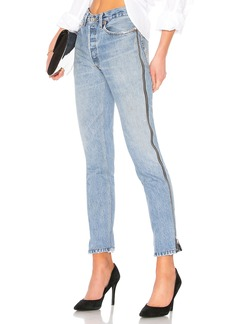 LEVI'S High Rise Ankle Crop Zip