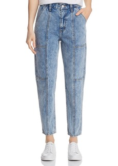 Levi's High-Rise Utility Mom Jeans in Pull a Fast One