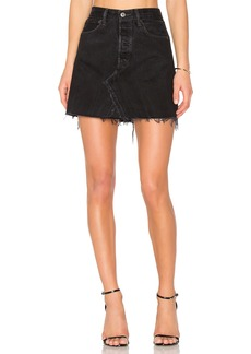 Re/Done Levis High Waist Mini Skirt