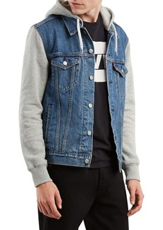 Levi's Hybrid Hooded Denim Jacket