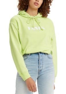 Levi's Women's Logo Print Hoodie Sweatshirt