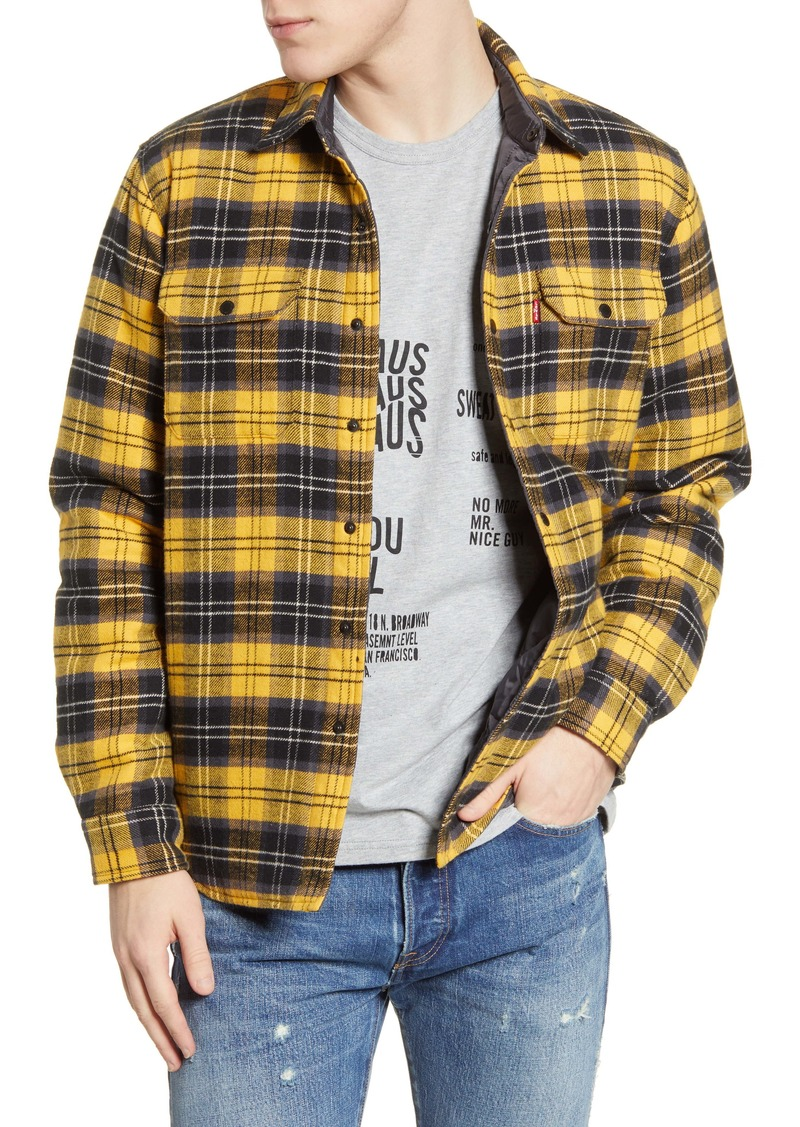 Levi's® Jackson Regular Fit Button-Up Shirt Jacket