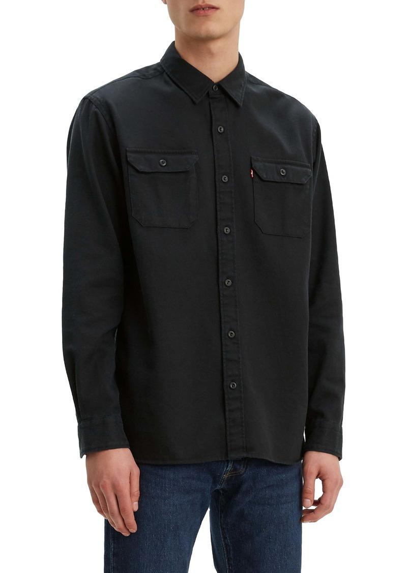 Levi's® Jackson Slim Fit Black Button-Up Work Shirt