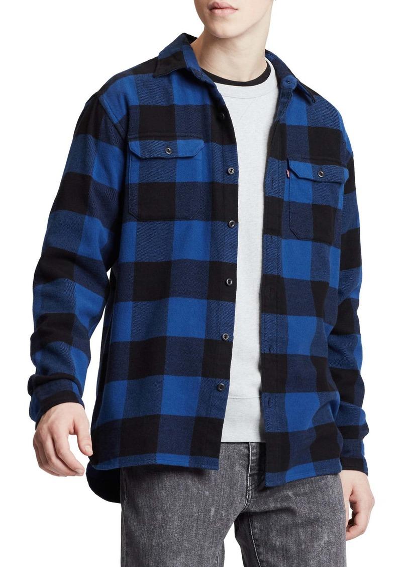 Levi's® Jackson Slim Fit Button-Up Flannel Work Shirt