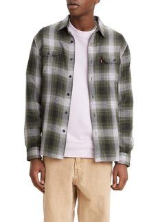 Levi's® Jackson Worker Plaid Button-Up Overshirt