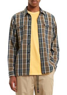 Levi's® Jackson Worker Regular Fit Plaid Button-Up Shirt