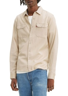 Levi's® Jackson Worker Solid Button-Up Shirt