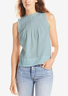 Levi's Janis Cotton Pleated Top