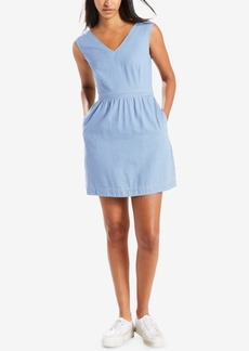 Levi's Joelle Back-Tie Twill Dress