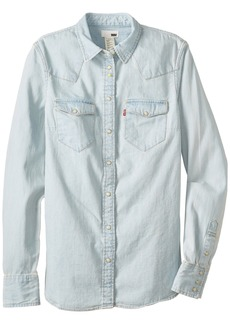 Levi's Juniors Tailored Western Shirt Light Authentic