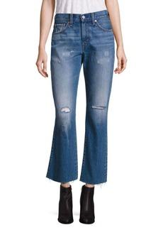 Levi's Kick Flared Medium Wash Distressed Jeans