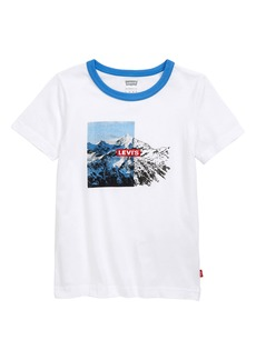 Levi's® Kids' Mountain Graphic Ringer T-Shirt (Toddler & Little Boy)