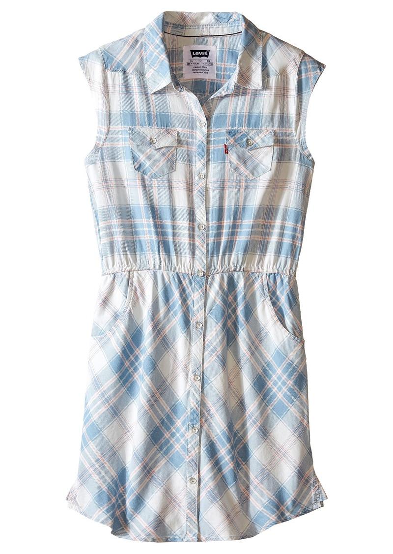 Levi's® Kids Open Road Short Sleeve Woven Dress (Big Kids)