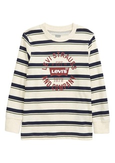 Levi's® Kids' Ringer Long Sleeve T-Shirt (Little Boy)