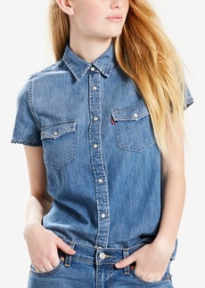 Levi's Larissa Western Cotton Denim Shirt