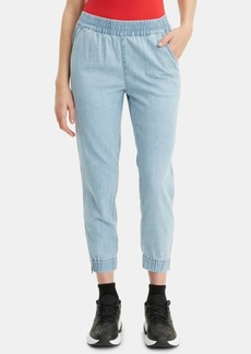 Levi's Light-Wash Jean Joggers