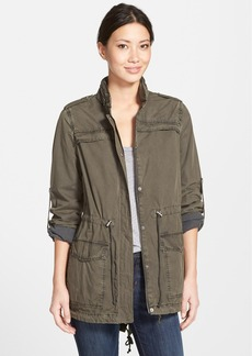 Levi's® Lightweight Cotton Hooded Utility Jacket