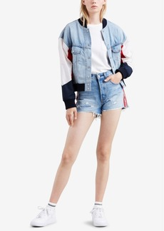 Levi's Limited-Edition Hybrid Denim Bomber Jacket, Created for Macy's