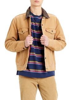 Levi's Levis® Lined Canvas Trucker Jacket