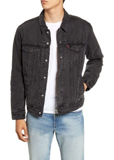 Levi's® Lined Denim Trucker Jacket
