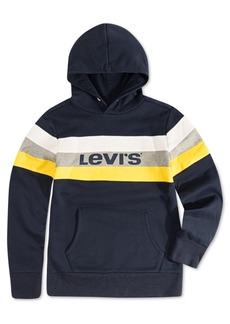 Levi's Little Boys Colorblocked Stripe Fleece Logo Hoodie