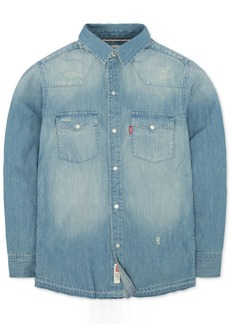 Levi's Little Boys Denim Pocket Shirt