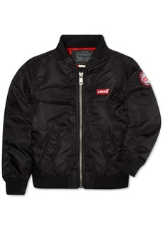 Levi's Little Boys Logo Bomber Jacket