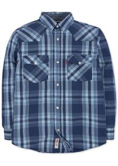 Levi's Little Boys Plaid Cotton Flannel Shirt