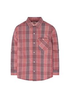 Levi's Little Boys' Pocket Long Sleeve Button-up Shirt