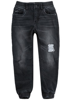 Levi's Little Boys Slim Tapered-Fit Stretch Distressed Dobby Joggers