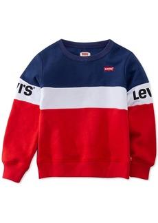 Levi's Little Girls Colorblocked Fleece Sweatshirt