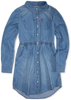 Levi's Little Girls Cotton Denim Shirtdress