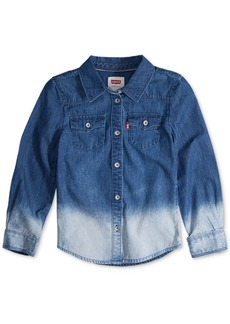Levi's Little Girls Cotton Denim Western Shirt