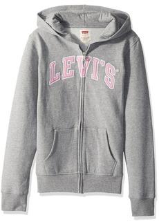 Levi's Girls' Little Zip Up Hoodie