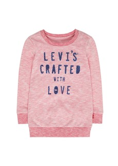 Levi's Little Girls' French Terry Tunic Top