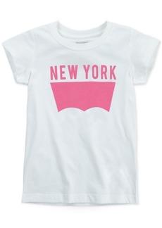 Levi's Little Girls New York Cotton T-Shirt