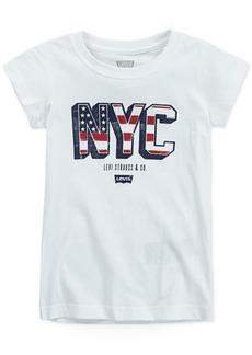 Levi's Little Girls Nyc Cotton T-Shirt