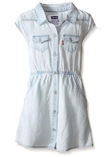 Levi's Girls' Western Shirt Dress 4