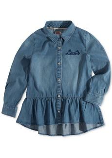 Levi's Little Girls Peplum Shirt