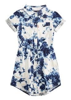 Levi's Girls' Little Short Sleeve Western Dress