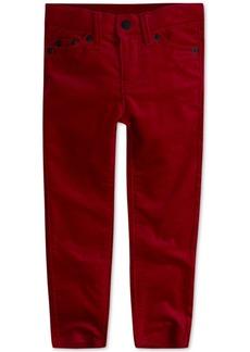 Levi's Little Girls Super Skinny Velvet Jeans