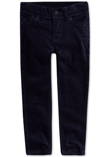 Levi's Little Girls Super Skinny Velvet Jeans