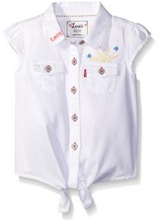 Levi's Girls' Toddler Waist Tie Top