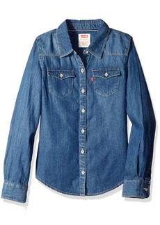 Levi's Girls Western Button up Shirt.