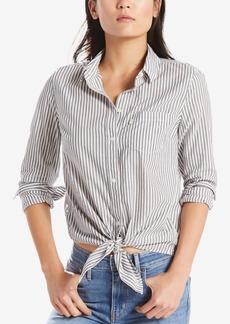 Levi's Liza Cotton Tie-Front Shirt