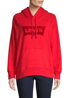 Levi's Logo Graphic Cotton-Blend Hoodie