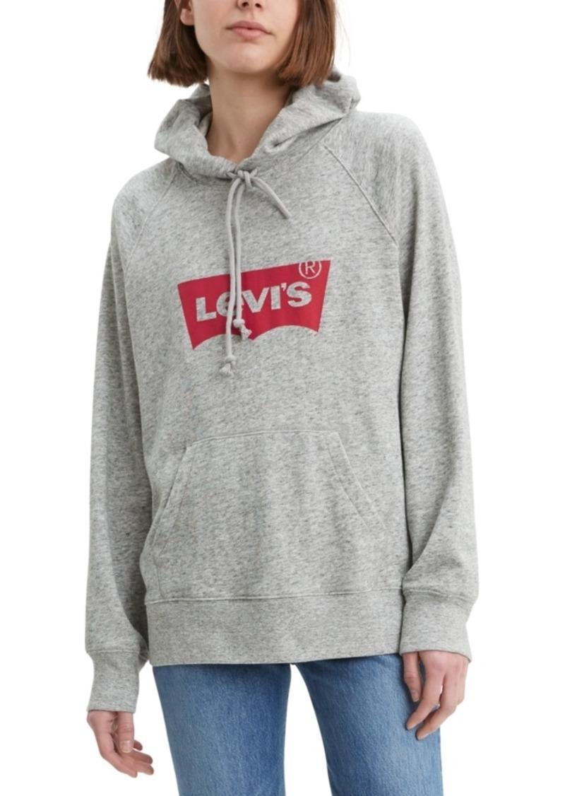Levi's Women's Logo-Graphic Sport Hoodie
