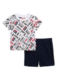 Levi's® Logo Graphic Tee & Shorts Set (Baby)