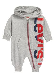 Levi's® Logo Hooded Romper (Baby)
